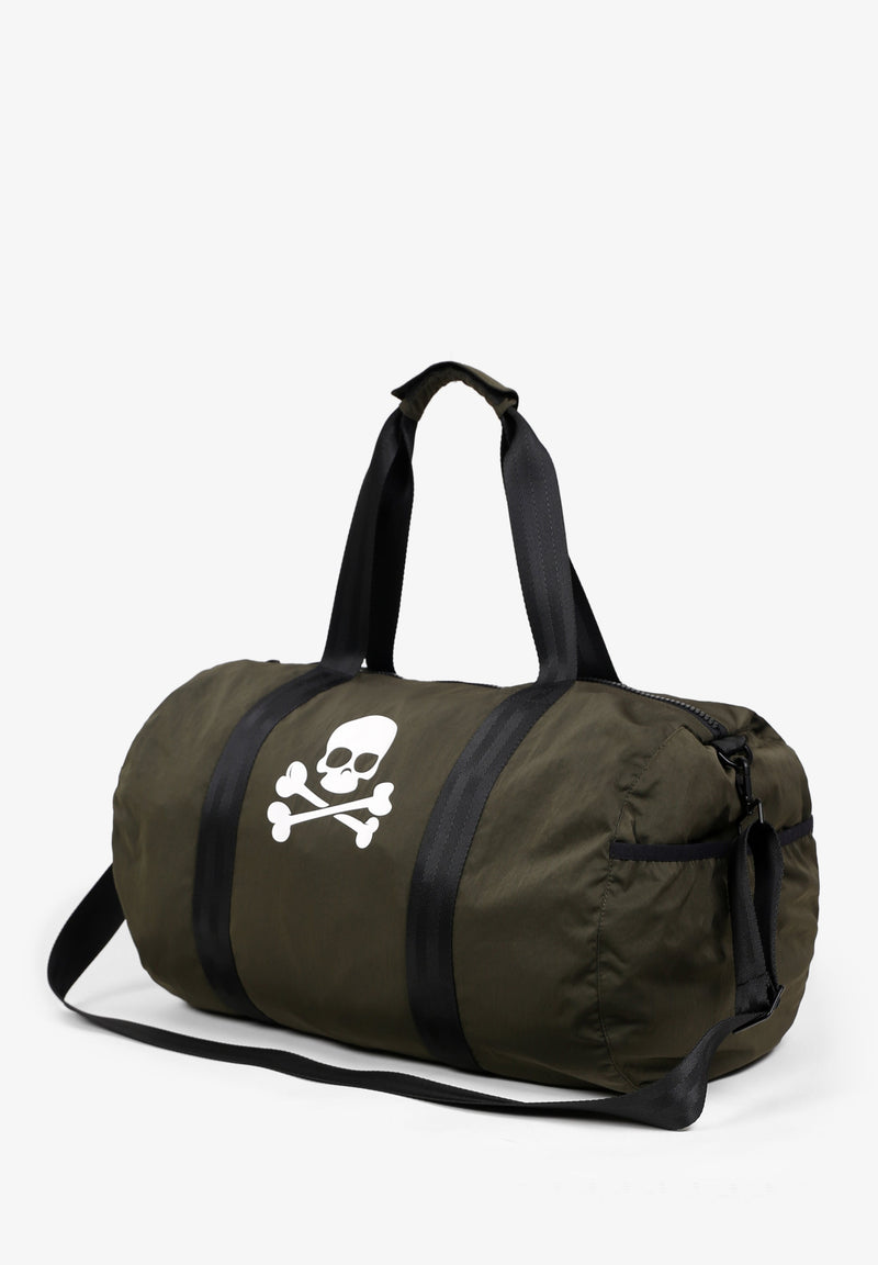 TRAVEL BAG WITH SKULL