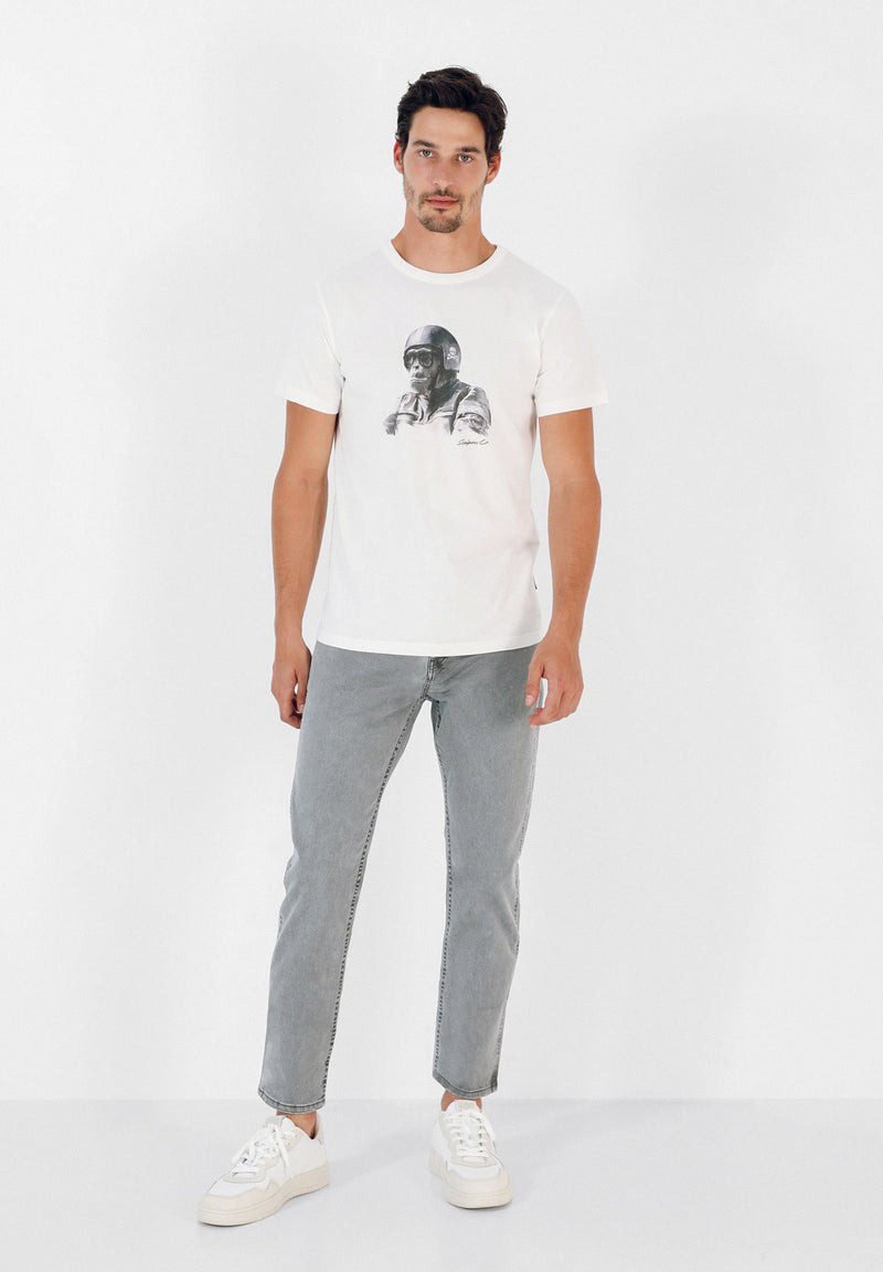 T-SHIRT WITH GORILLA PRINT
