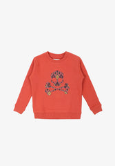 SWEATSHIRT WITH KILIM SKULL
