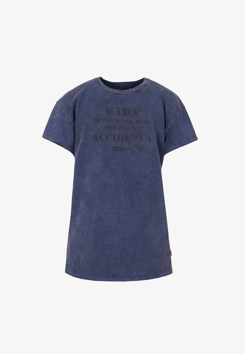 FADED FRAYED T-SHIRT