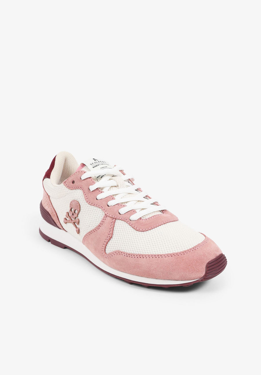 NATURAL INSIGNIA PINK SNEAKERS