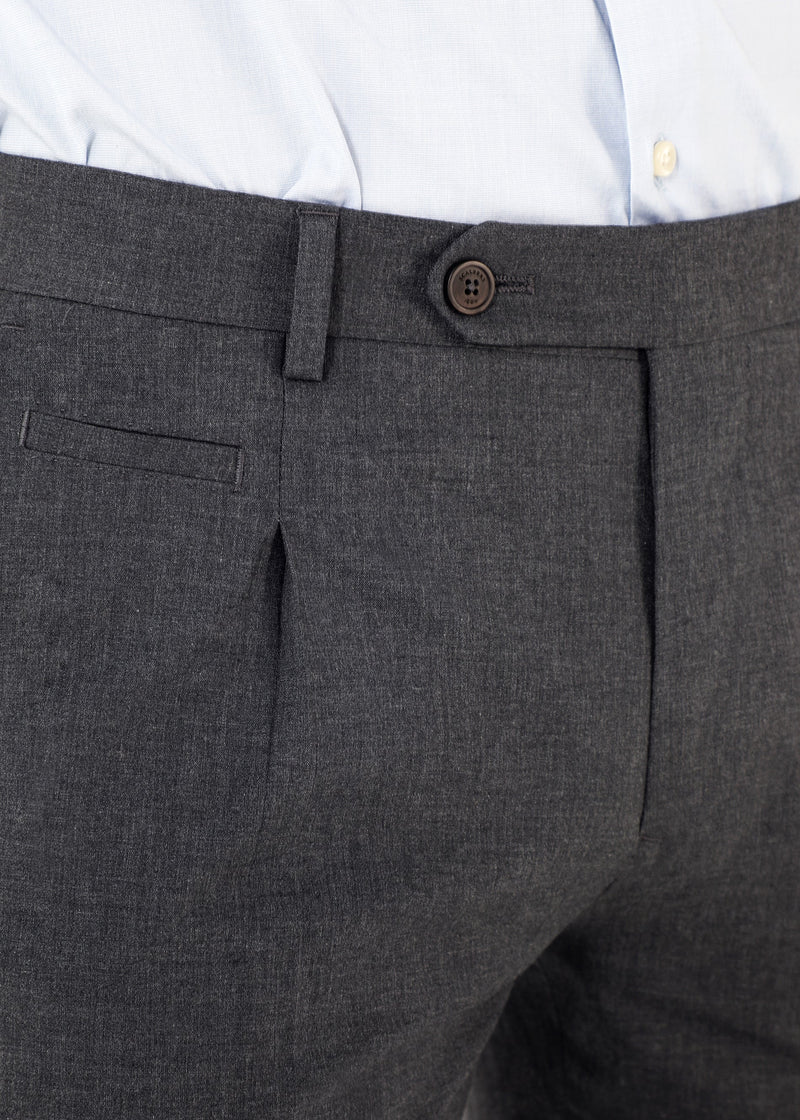 SMART TROUSERS WITH DARTS