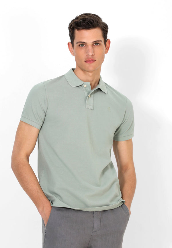 BASIC POLO SHIRT WITH SKULL