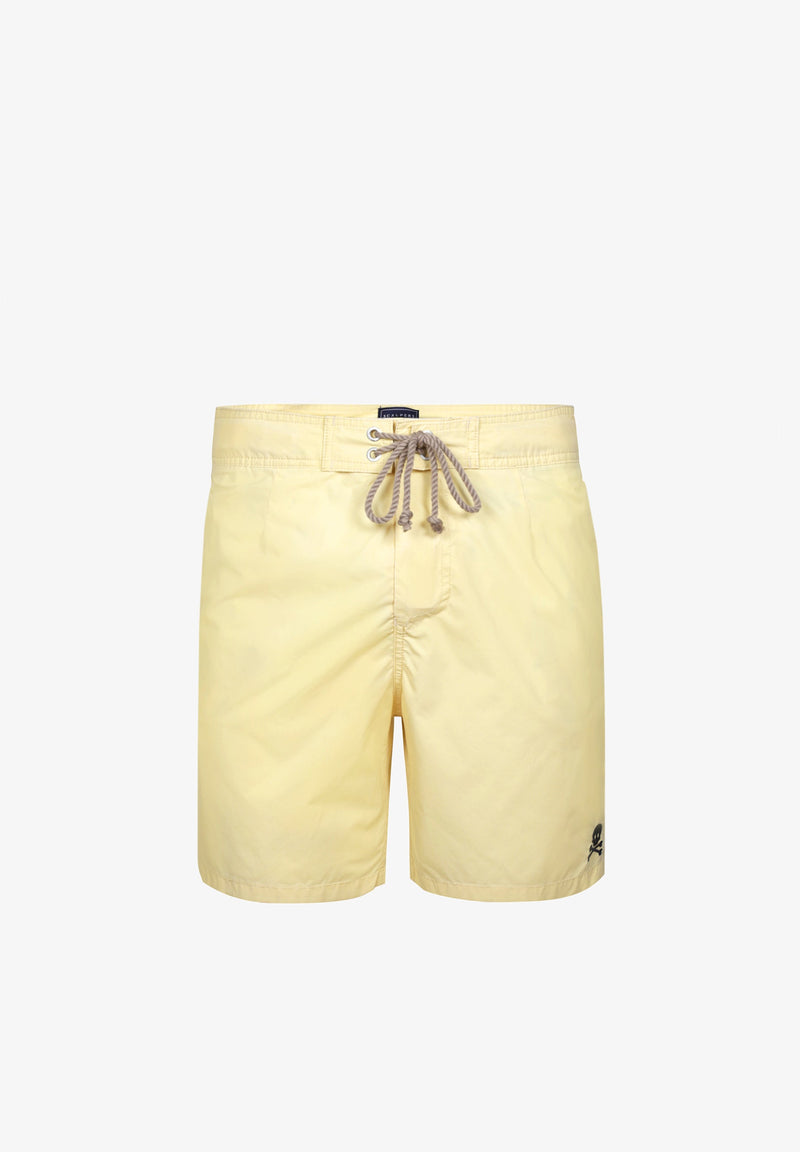 FADED EFFECT SWIMMING TRUNKS