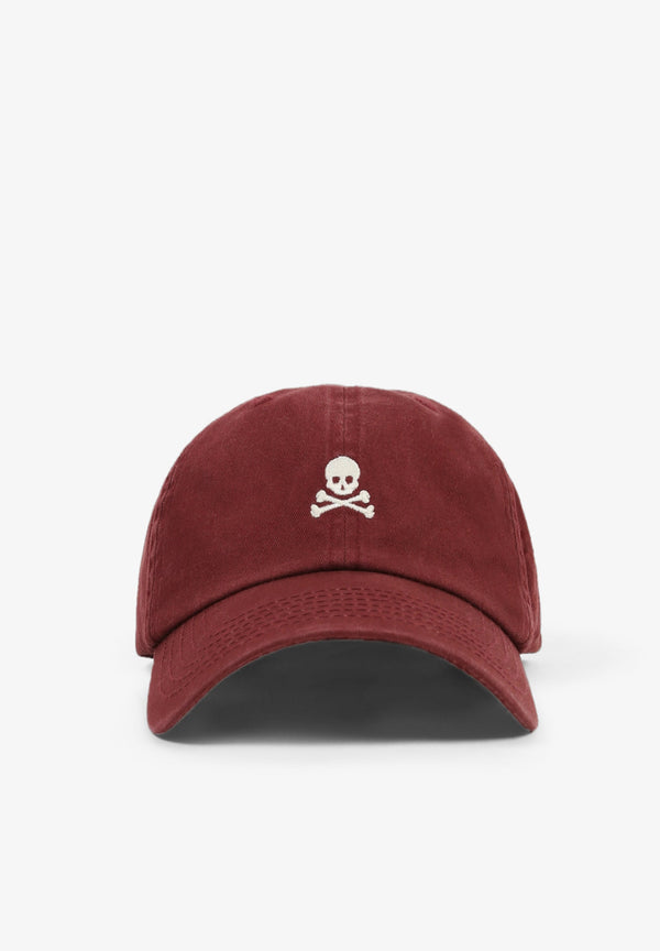 FADED CAP WITH SKULL
