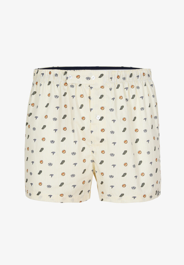 BOXERS WITH FUN MOTIFS