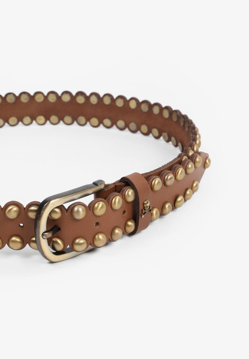 BELT WITH STUDS