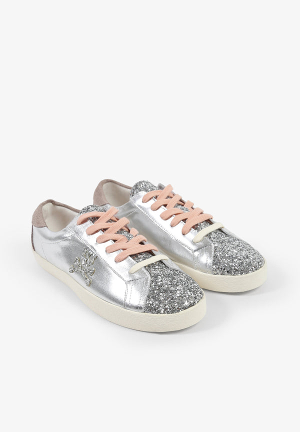 METALLIC SNEAKERS