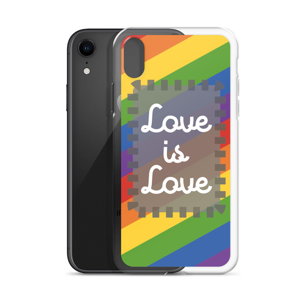 Coque iPhone LGBT Love is Love - Lgbt Friendly Shop