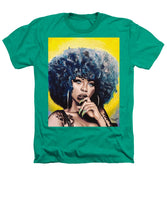 Afro Blue - Heathers T-Shirt