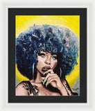 Afro Blue - Framed Print