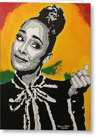 Amanda Seales - Greeting Card