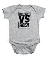 Black Label Everybody VS Racism - Baby Onesie