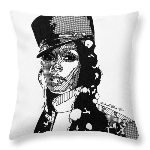 Janelle Monae - Throw Pillow