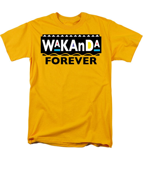 Martin_wakanda Forever_black - Men's T-Shirt  (Regular Fit)
