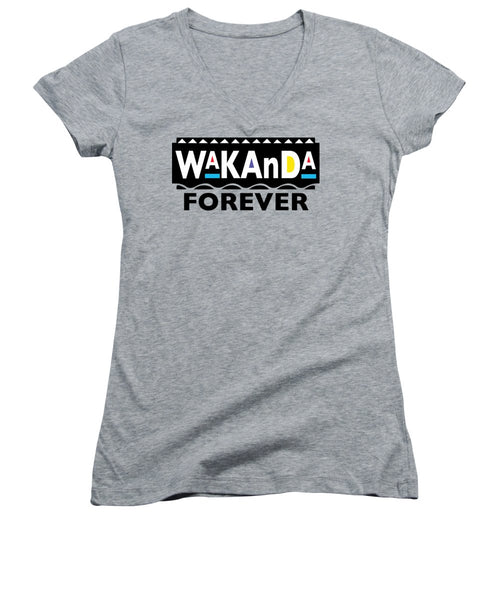 Martin Wakanda Forever: Black Label  - Women's V-Neck