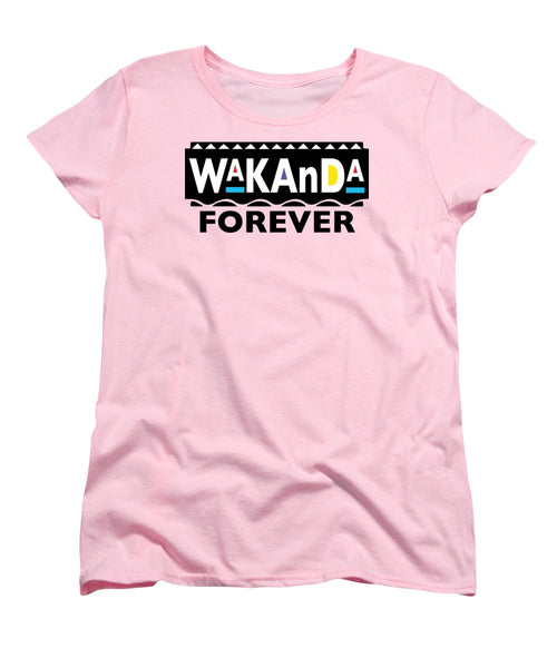 Martin Wakanda Forever: Black Label  - Women's T-Shirt (Standard Fit)