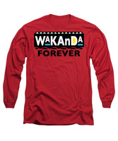 Martin Wakanda Forever: Black Label  - Long Sleeve T-Shirt