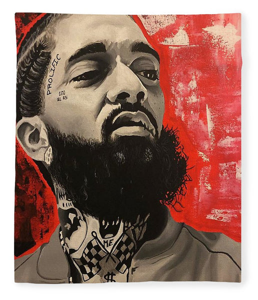 Nipsey Red - Blanket