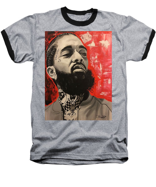 Nipsey Red - Baseball T-Shirt
