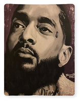 Nipsey Unity (Purple) - Blanket