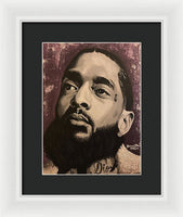 Nipsey Unity (Purple) - Framed Print