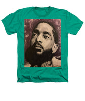 Nipsey Unity (Purple) - Heathers T-Shirt