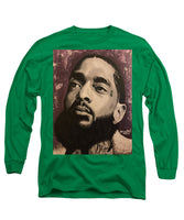 Nipsey Unity (Purple) - Long Sleeve T-Shirt