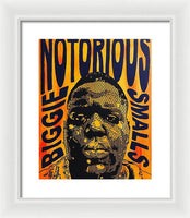 Notorious Big - Framed Print