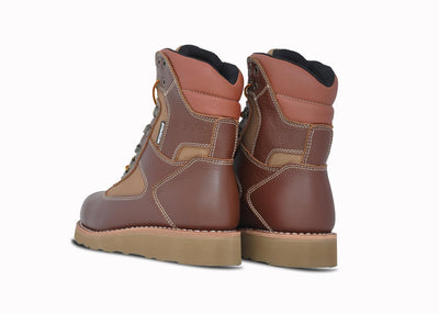 "Welt High 8"", Rust Brown & Camel"