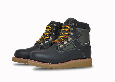 "Welt Mid 6"", Black & Green, Grade School (Boys)"