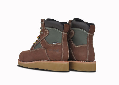 "Welt Mid 6"", Brown & Green, Grade School (Boys)"