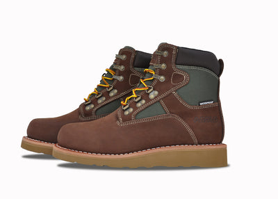 "Welt Mid 6"", Brown & Green"