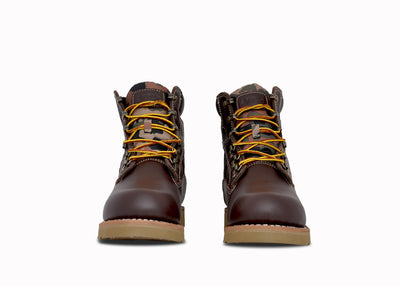 "Welt Mid 6"", Dk. Brown & Camouflage, BOYS"