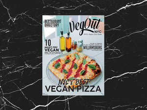 VegOut NYC Magazine SINGLE ISSUE (Print + Digital)