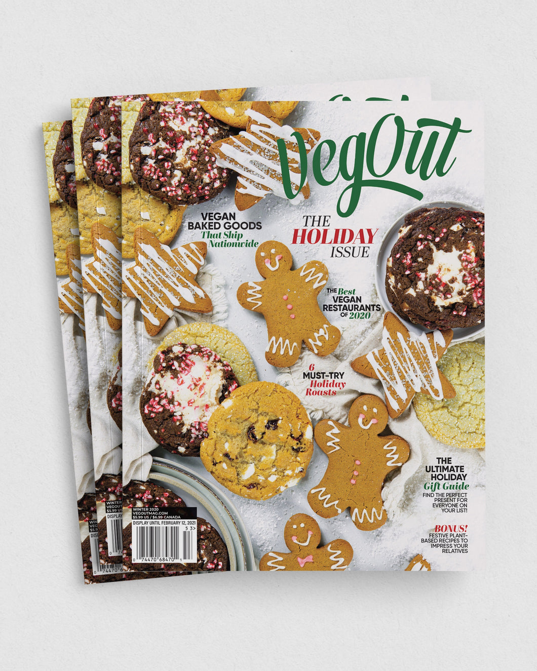 1 Year VegOut Magazine Subscription