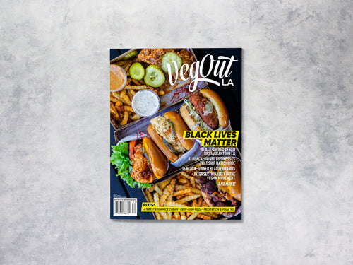 1 Year VegOut LA Magazine Subscription