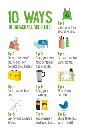 10 Ways to unpack your life - Infographic