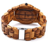 Natural Handmade Wood Watch - Unisex - wayne-whale