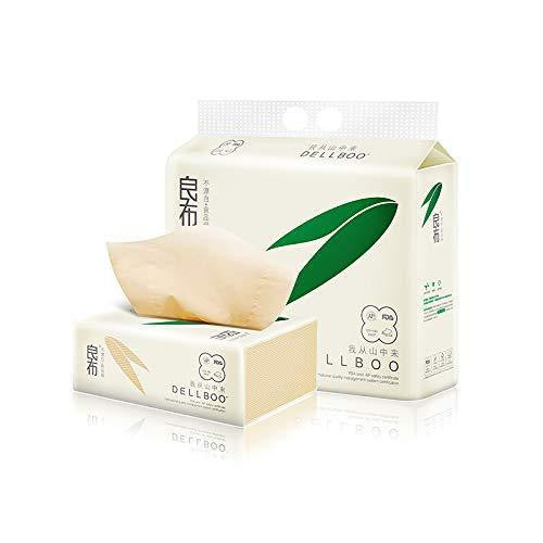 Bamboo Organic ECO-Friendly Facial Tissues  - 110 Count, 3 Pack - wayne-whale