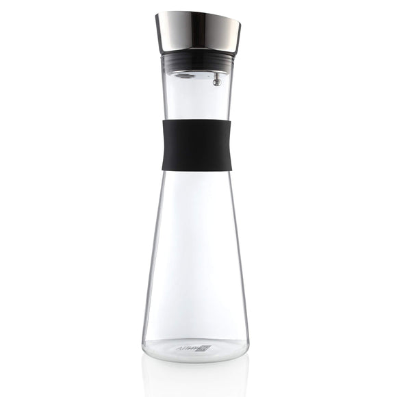 Premium Glass Carafe / Water Carafe with Stainless Steel Spout - wayne-whale