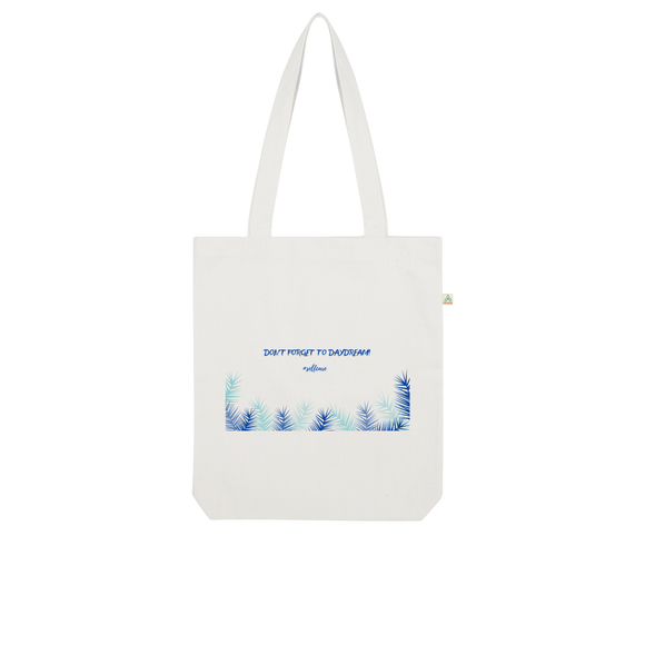 DON'T FORGET TO DAYDREAM Organic Tote Bag - wayne-whale