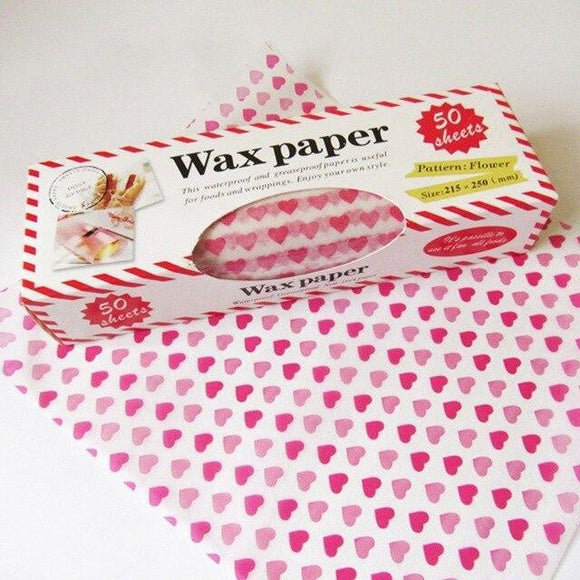 50Pcs/Lot Wax Paper Food Grade - wayne-whale
