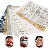 50pcs Wax Paper Food Grade - wayne-whale