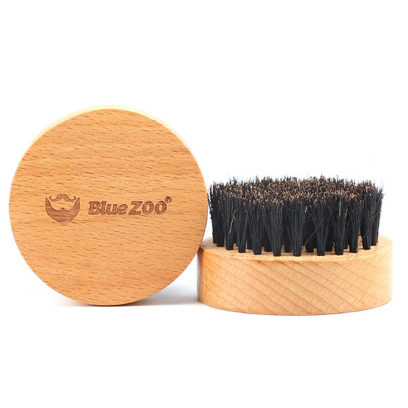 Natural Boar Bristle Beard Brush - wayne-whale