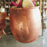 Reusable Copper Cup - 530ml with straw - wayne-whale