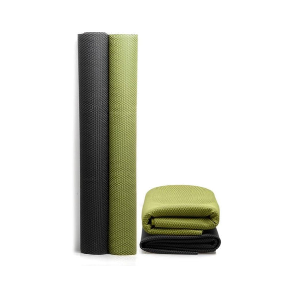 1.5mm Natural Rubber Foldable Travel Yoga Mat - wayne-whale