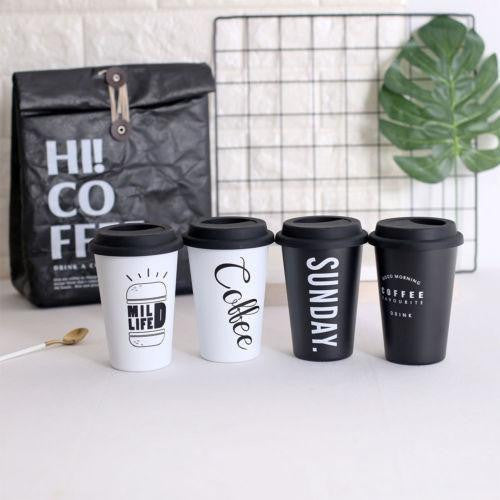 Reusable Coffee To Go Mugs - Stainless Fibre 500 ml - wayne-whale