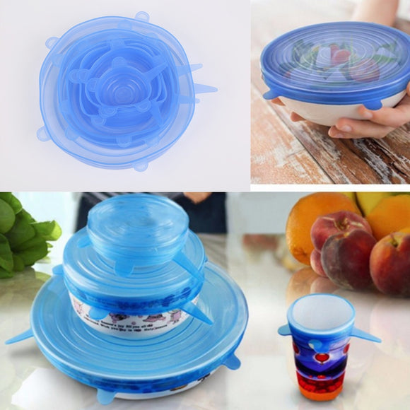 Universal Silicone Bowl Lid Cover - wayne-whale