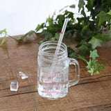 1 pc Decorated Reusable Eco Friendly Glass Drinking Straw - wayne-whale